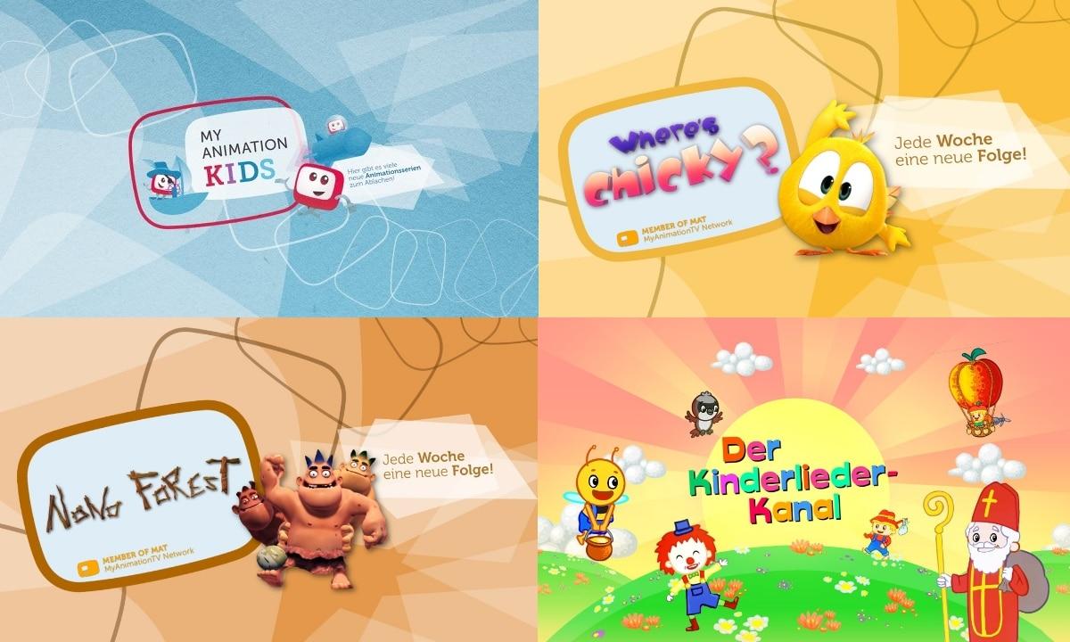 My Animation Kids in Online Livestream und jederzeit auf Abruf
