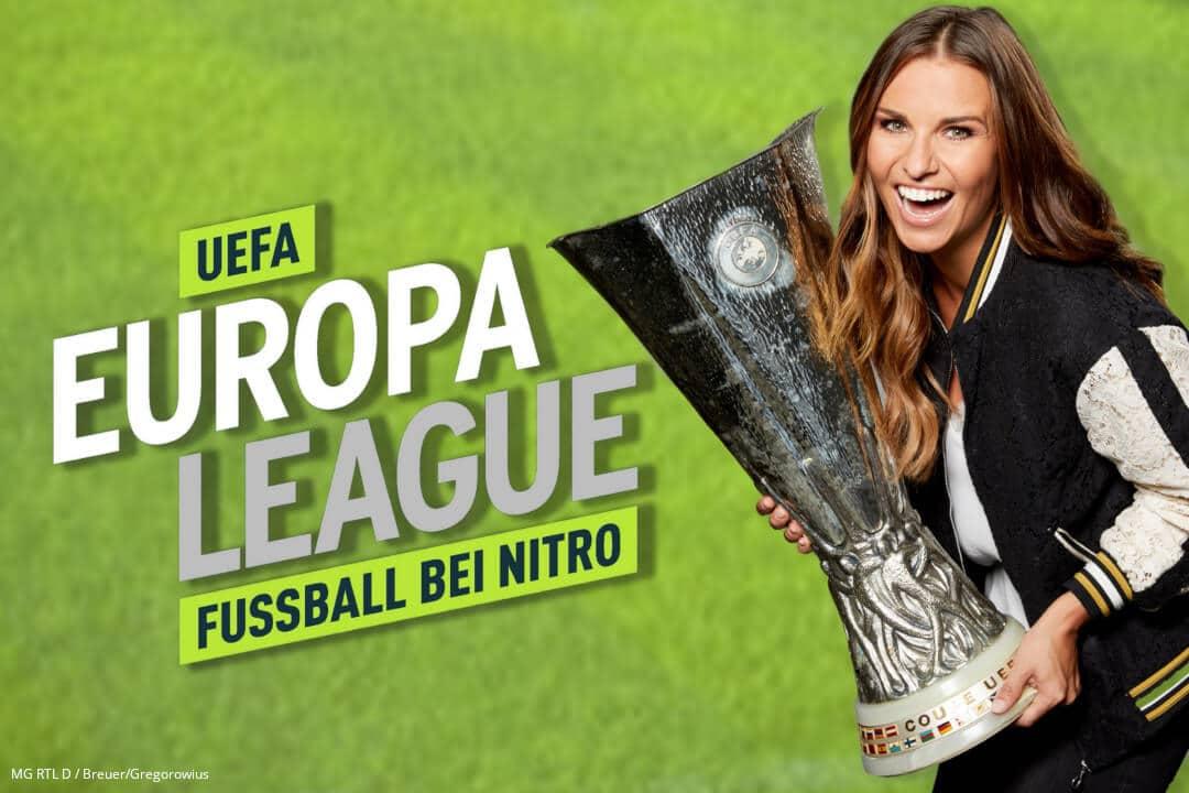 Die Europa League im Online-Livestream bei NITRO