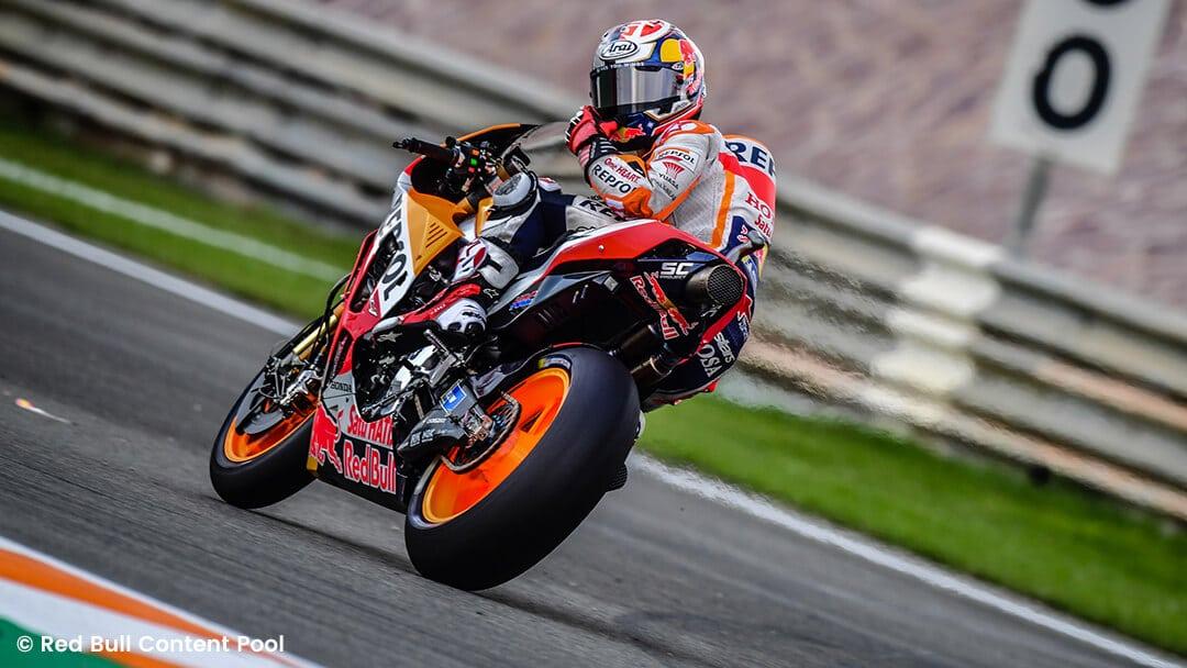 Marc Márquez auf seinem Honda Motorrad