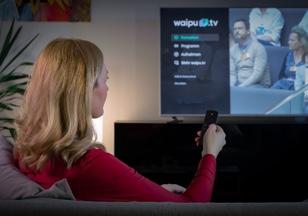 Fernsehen ohne Kabelanschluss | Auf allen Geräten mit waipu.tv