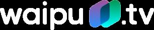 waipu.tv Wort Bildmarke in weiß