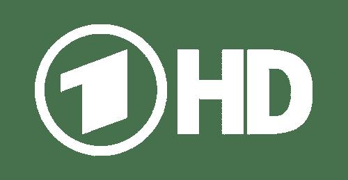 Das Logo der ARD mit HD