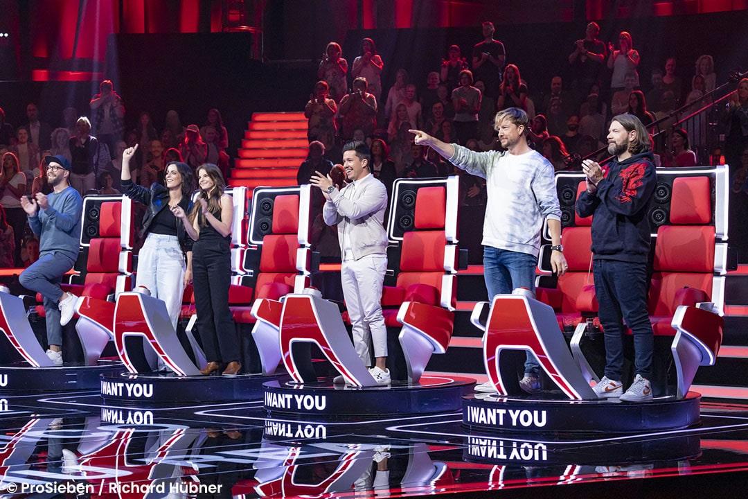 Die Jury hat ihren Star in den Blind Auditions gewählt