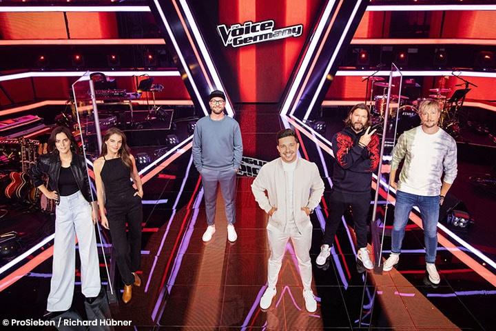 Die diesjährige Jury von The Voice if Germany präsentiert sich