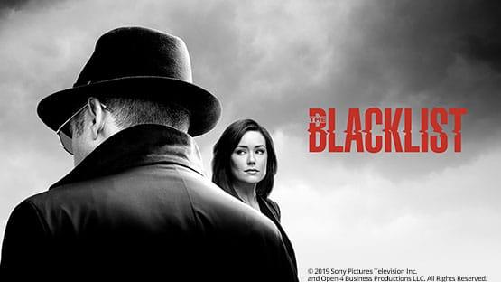 James Spader und Megan Boone in The Blacklist