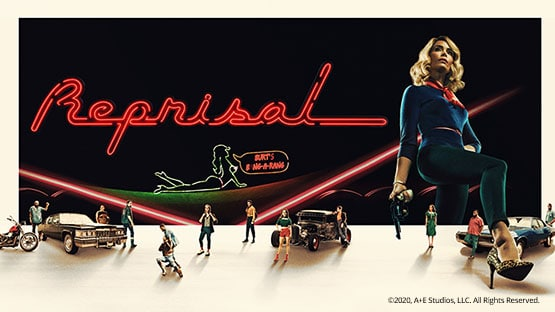 Abigail Spencer in der Serie Reprisal